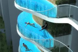 Want to swim 44 stories up?